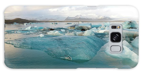 Galaxy Case featuring the photograph Jokulsarlon The Glacier Lagoon, Iceland 2 by Dubi Roman