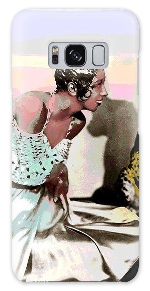 Josephine Baker Galaxy Case by Charles Shoup