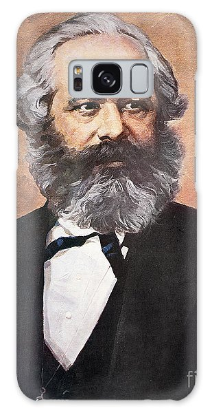 Philosopher Galaxy Case - Karl Marx by Unknown