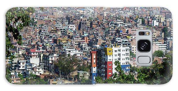 Kathmandu City In Nepal Galaxy Case
