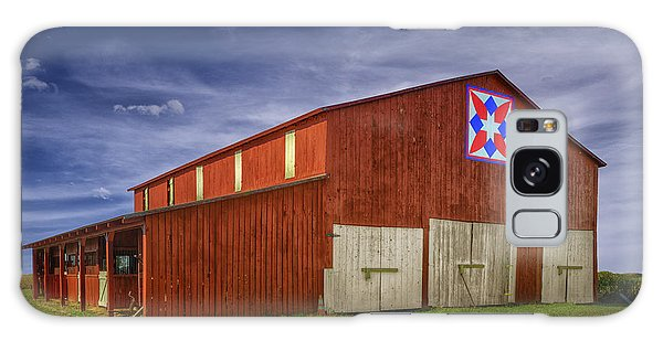 Kentucky Quilt Barn Galaxy Case by Wendell Thompson