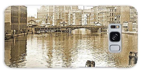 Galaxy Case - Kilbourn Avenue Bridge, Milwaukee River, C.1915, Vintage Photogr by A Gurmankin