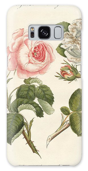 Decorative Galaxy Case - Kinds Of Roses by German School