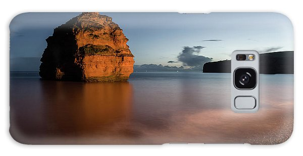 Ladram Bay In Devon Galaxy Case