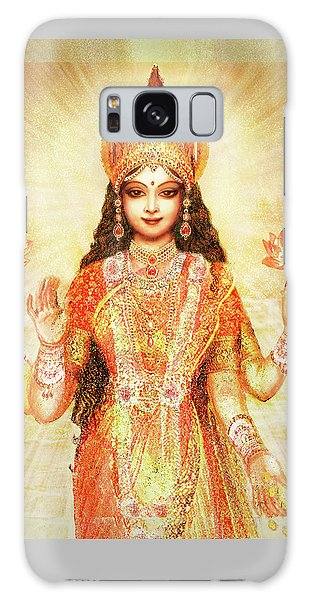 Lakshmi The Goddess Of Fortune And Abundance Galaxy Case