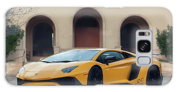 Galaxy Case featuring the photograph #lamborghini #aventadorsv #superveloce #print by ItzKirb Photography