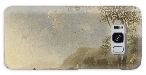 Landscape With Herdsmen And Cattle Galaxy Case
