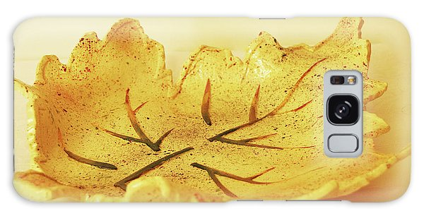 Leaf Plate2 Galaxy Case