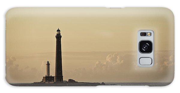 Atlantic Ocean Galaxy Case - Lighthouse by Nailia Schwarz