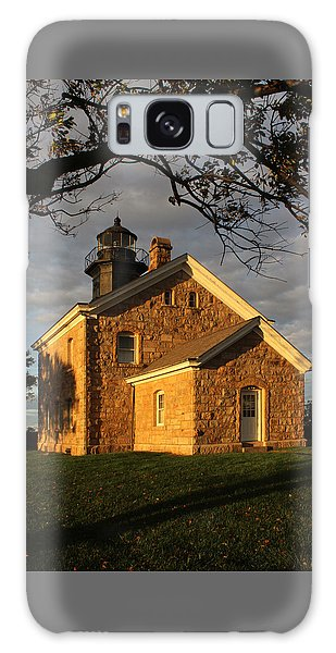 Lighthouse Old Field Point New York Galaxy Case