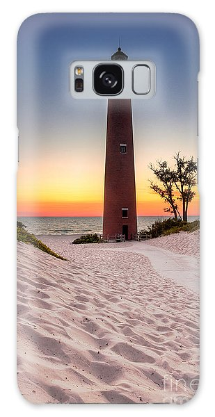 Little Sable Point Light Station Galaxy Case