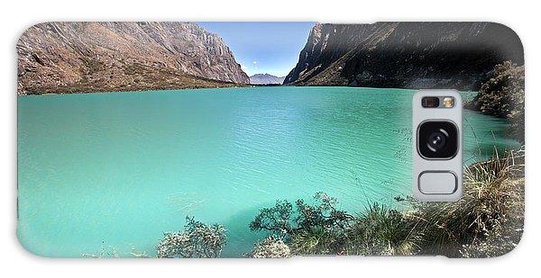 Llanganuco Lakes Galaxy Case