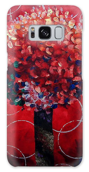Lollipop Tree Red Galaxy Case