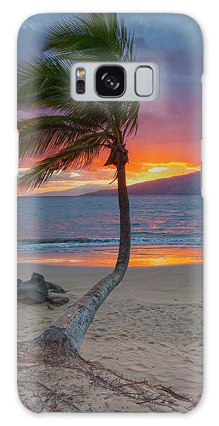 Lonely Palm Galaxy Case by James Roemmling