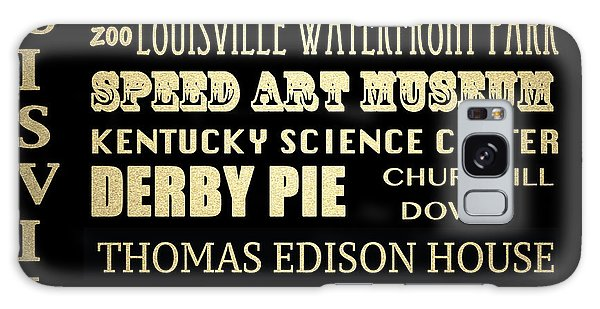 Louisville Famous Landmarks Galaxy Case