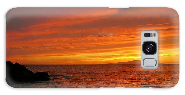 Makena Sunset Galaxy Case