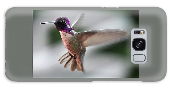 Male Anna's In Flight Galaxy Case