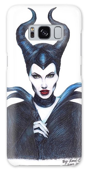 Maleficent  Once Upon A Dream Galaxy Case by Kent Chua