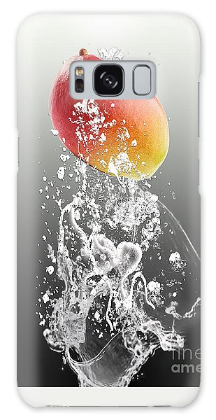 Mango Splash Galaxy Case by Marvin Blaine