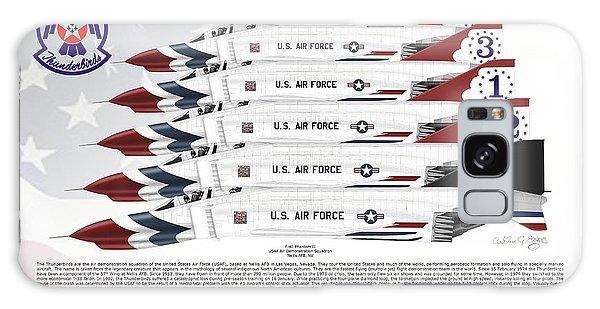 Mcdonnell Douglas F-4e Phantom II Thunderbirds Galaxy Case