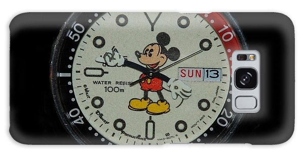 Mickey Mouse Watch Face Galaxy Case