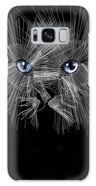 Mister Whiskers Galaxy Case