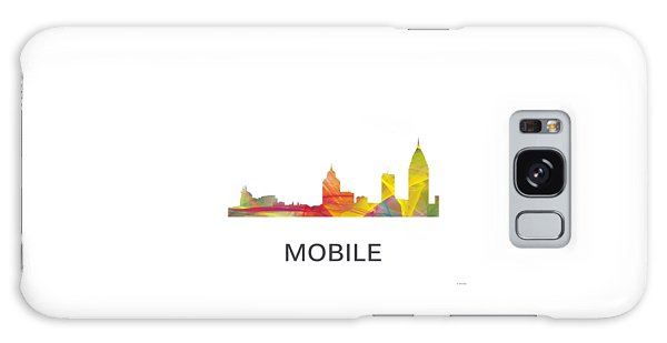 Mobile Alabama Skyline Galaxy Case