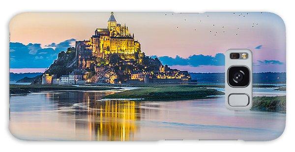Mont Saint Michel Galaxy Case