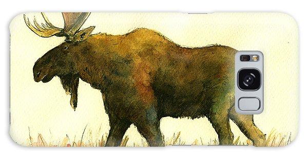 Bull Art Galaxy Case - Moose by Juan  Bosco
