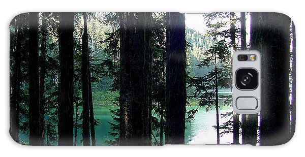 Mountain Lake Galaxy Case
