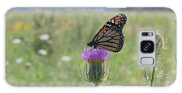 Mountain Meadow Monarch Galaxy Case