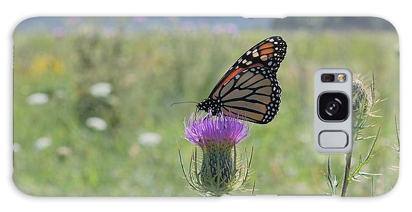 Mountain Meadow Monarch Galaxy Case by Randy Bodkins