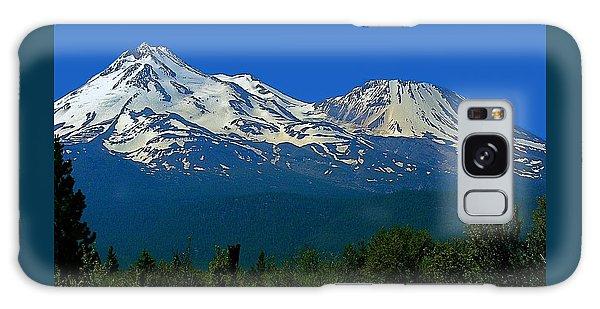 Mt. Shasta Galaxy Case by Steve Warnstaff