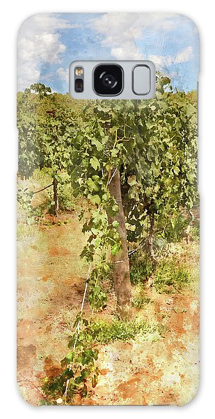 Napa Vineyard In The Spring Galaxy Case