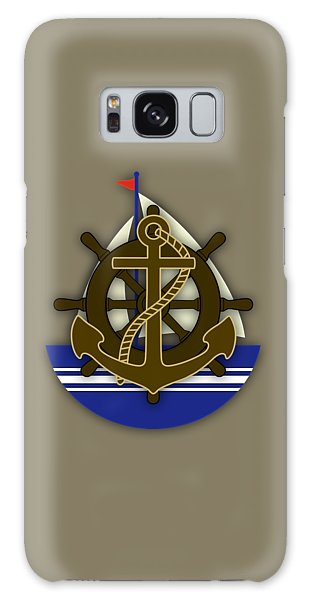 Nautical Collection Galaxy Case by Marvin Blaine