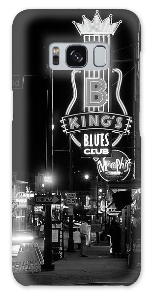 B B King Galaxy Case - Neon Sign Lit Up At Night, B. B. Kings by Panoramic Images