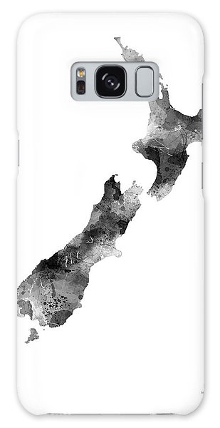 New Zealand Map Galaxy Case
