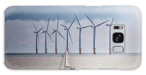 Wind Power Galaxy Case - North Sea Wind Farm by Martin Newman