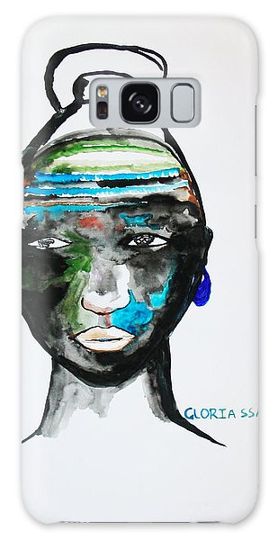 Nuer Bride - South Sudan Galaxy Case