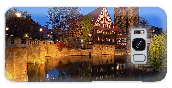 Nuremberg At Night Galaxy Case