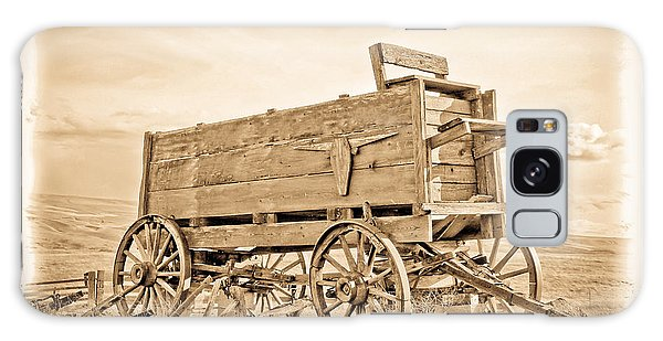 Old West Wagon  Galaxy Case