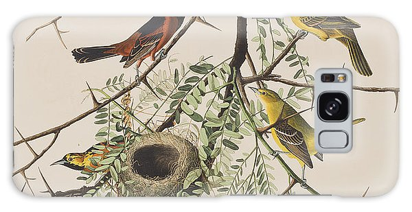 Orchard Oriole Galaxy Case
