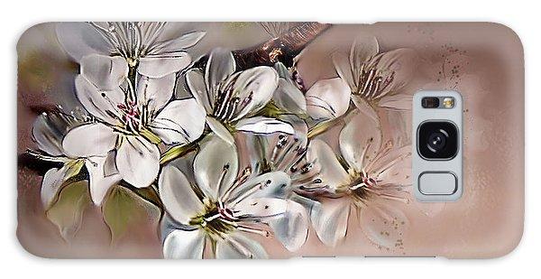 Oriental Pear Blossom Galaxy Case