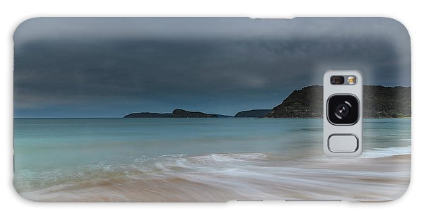 Overcast Cloudy Sunrise Seascape Galaxy Case