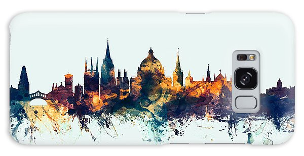 Oxford England Skyline Galaxy Case by Michael Tompsett