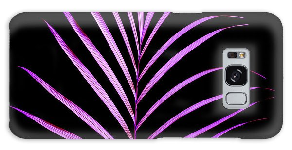 New Leaf Galaxy Case - Palm Leaf by Tony Cordoza