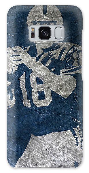 Peyton Manning Colts Galaxy Case