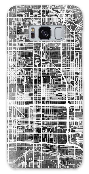 Phoenix Arizona City Map Galaxy Case