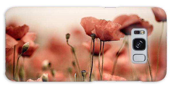 Summertime Galaxy Case - Poppy Dream by Nailia Schwarz