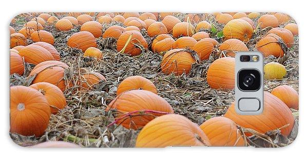 Pumpkin Patch Galaxy Case